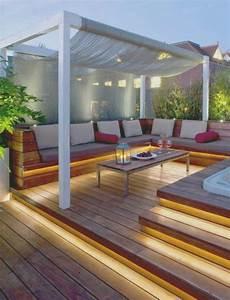 Innenarchitektur kleines terrasse gestalten hang for Terrasse modern gestalten