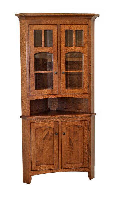 Biltmore Corner Hutch  Dutch Craft Furniture