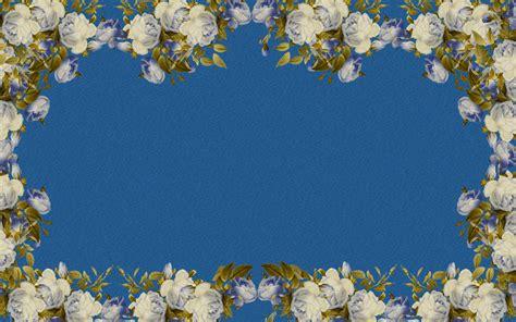 Flower Wallpaper Border 3 Desktop Background