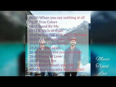 How could we forget the beatles when we are making any playlist? Music Travel Love Song Playlist - YouTube