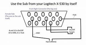How To Remove Grill On Logitech X 530 Subwoofer Excursion Bass