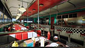 American Diner Zubehör : american style diner by grimmsorg studios in environments ue4 marketplace ~ Sanjose-hotels-ca.com Haus und Dekorationen