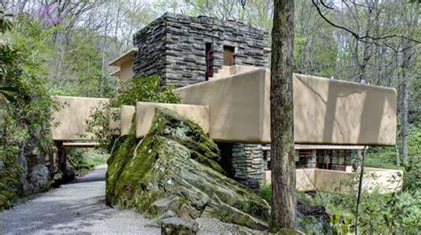 Frank Lloyd Wrights Fallingwater Home In Pennsylvania Oc