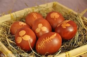 Eier Natürlich Färben : ostern eier nat rlich f rben birds like cake baking ~ A.2002-acura-tl-radio.info Haus und Dekorationen