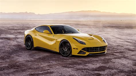 Ferrada Sema Yellow Ferrari F12 5k 3 Wallpaper
