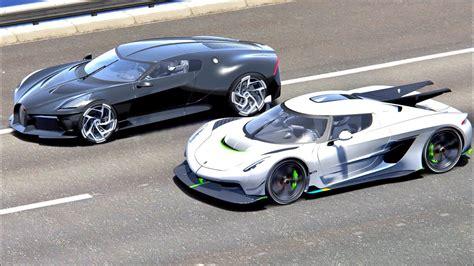 Noob vs pro vs hacker minecraft animation. Supercars Gallery: Bugatti Centodieci Vs Koenigsegg Jesko