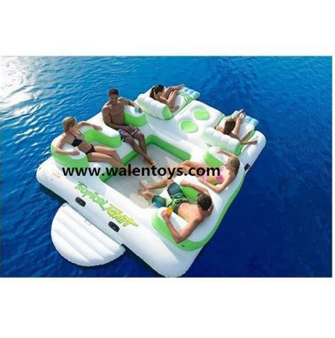 chaise flottante pour piscine 6 personne gonflable île flottante piscine chaise de l 39 eau