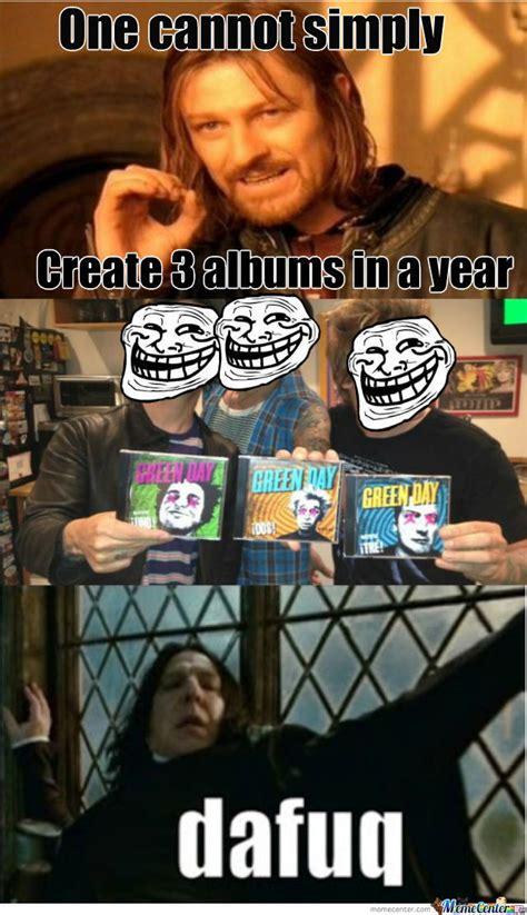 Green Day Memes - green day ftw by blackpaintedroses meme center