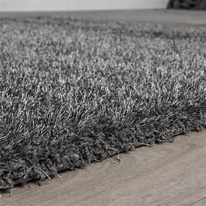 Teppich Langflor Grau : teppich shaggy hochflor teppiche langflor modern weich ~ Lateststills.com Haus und Dekorationen