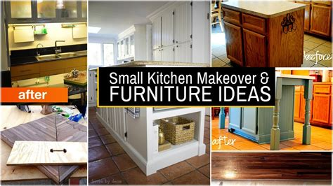 small kitchen makeover  furniture ideas youtube