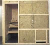 Sauna Selber Bauen Wandaufbau : kann ich eine sauna mit styropor d mmen der sauna heimwerker ~ Orissabook.com Haus und Dekorationen