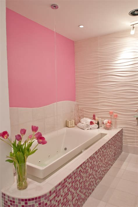 Remodeling A Bathroom With 20 Pink Bathroom Decorating