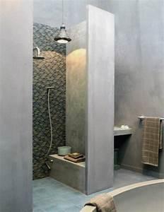 Beton Hydrofuge Pour Salle De Bain : 17 meilleures id es propos de petites salles de bain sur ~ Edinachiropracticcenter.com Idées de Décoration