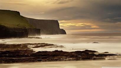 Ireland Cliffs Moher Desktop Wallpapers Widescreen Background