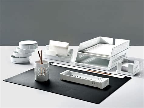 set bureau set de bureau en technopolymère babele by rexite design