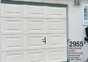 Lapeyre Porte De Garage : porte de garage sectionnelle lapeyre voiture et ~ Melissatoandfro.com Idées de Décoration