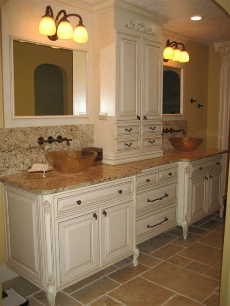 white cabinets tan granite home design ideas pictures