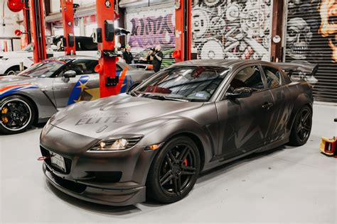 Newest Mazda Rx8 by For Sale This Mazda Rx8 Sports An Ls6 Its