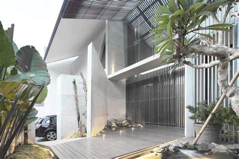 gambar desain rumah minimalis industrial wallpaper dinding