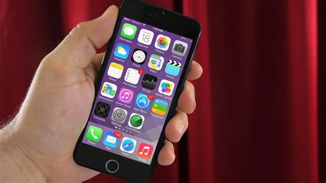 what does an iphone 4 look like this is what ios looks like on an iphone 6 4 7 inch