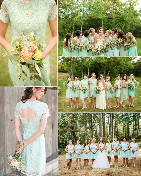 bridesmaid dresses mint green bridesmaid dress trend let s go mint tulle chantilly wedding