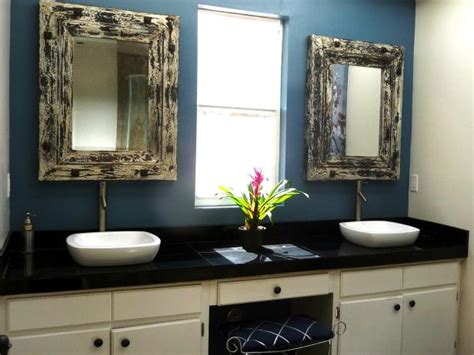 shabby chic bathroom vanity mirror photo page hgtv