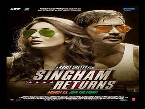 Singham Returns First Look Posters Out! - Filmibeat