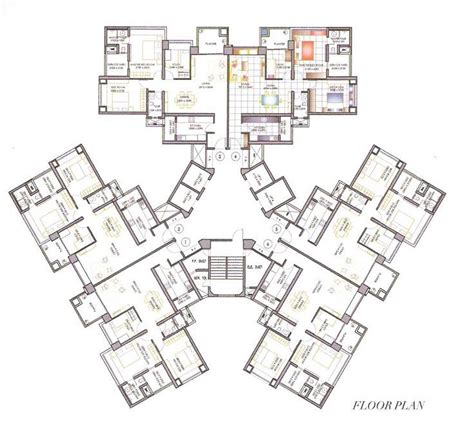residential blueprints high rise residential floor plan search great