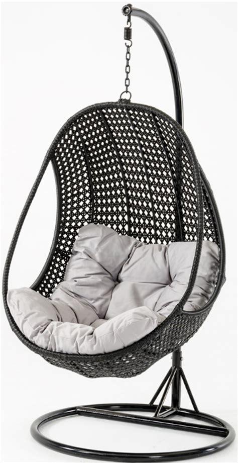 sardinia rattan pod hanging chair outdoor patio furniture