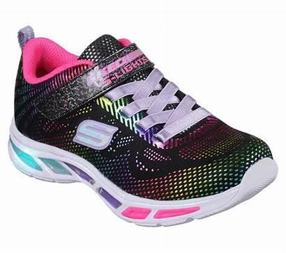 Skechers Gleam Dream Litebeams Lights Shoes Bkmt