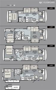 2011 monaco riptide class a motorhome floorplans large for Monaco rv floor plans