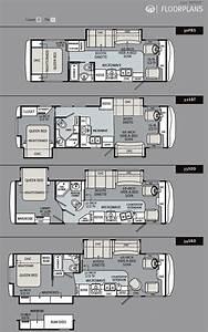 2011 monaco riptide class a motorhome floorplans large for Monaco rv floor plans