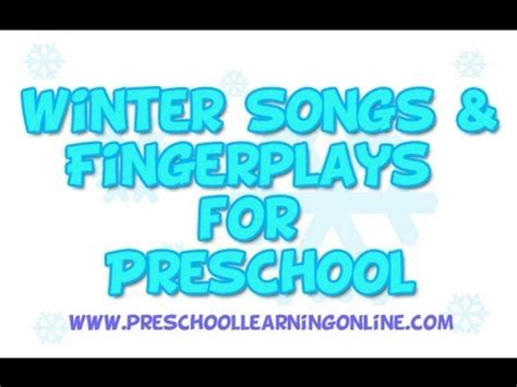 winter songs for preschool amp fingerplays 994 | hqdefault