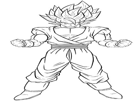 Dbz Coloring Pages - Eskayalitim