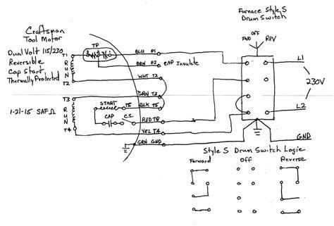 Motor Drum Switch Wiring Help Page