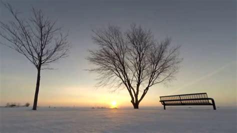winter sunrise time lapse youtube