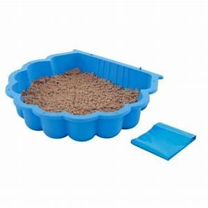 Bac À Sable Plastique : bac sable trigano bleu bac sable jeu enfant ~ Melissatoandfro.com Idées de Décoration