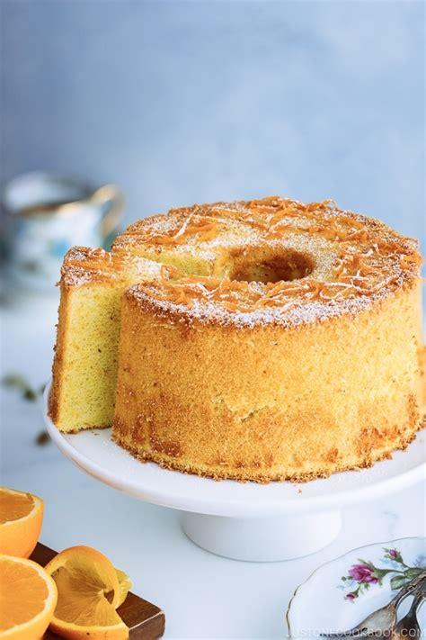 meyer lemon chiffon cake   cook