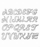 Lettering Leather Script Patterns Coloring sketch template