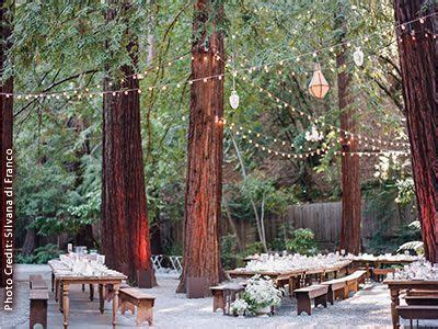 Northern California Outdoor Wedding Venues Forest