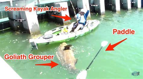 grouper goliath rod kayak