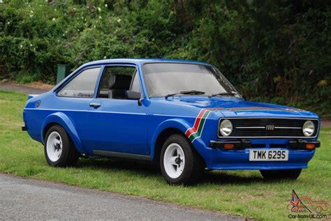 ford escort popular blue