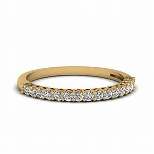 18k yellow gold wedding band for women fascinating diamonds for Wedding rings and bands