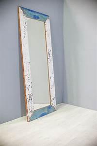 Miroir 160 Cm : miroir en bois de bateau recycl 160cm ~ Teatrodelosmanantiales.com Idées de Décoration