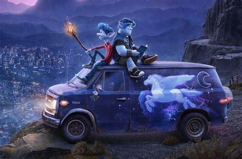 disney pixars onward    poster  trailer