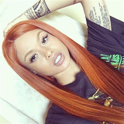 Ginger Spice Custom Colored Extensions For Indialove Hair
