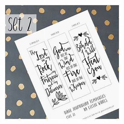 Bible Journaling Kings Faith Printable Illustrated Stencil