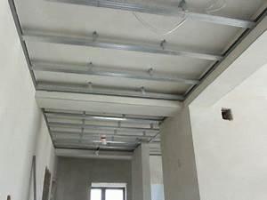 Comment Faire Un Plafond En Placo : faux plafond sans suspente r nover en image ~ Dailycaller-alerts.com Idées de Décoration