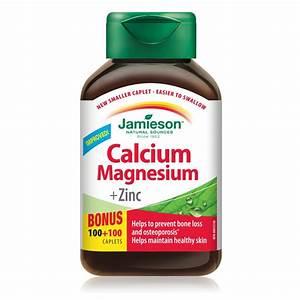 Buy Jamieson Vitamins Calcium Magnesium   Zinc