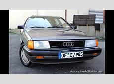 1987 Audi 5000 Quattro 23 Typ44 100 Sedan YouTube